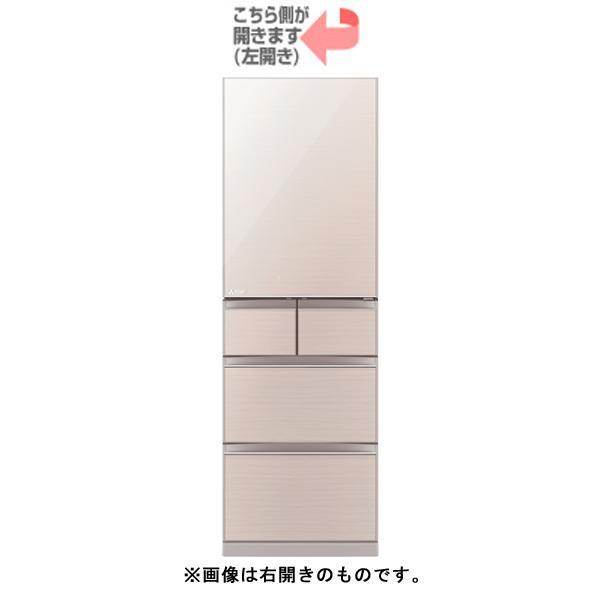 【配送設置込】三菱電機 MR-B46FL-F[冷蔵庫(455L・左開き) Bシリーズ クリスタルフローラル]