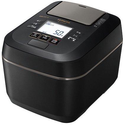 【日立】RZ-W100DM-K [圧力&スチームIHジャー炊飯器 ふっくら御膳 5.5合炊き フロストブラック]