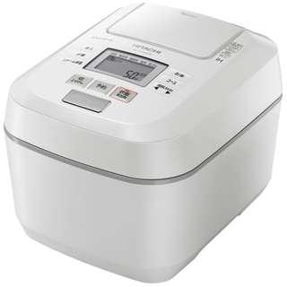 【日立】 RZ-V100DM-W [圧力&スチームIHジャー炊飯器 ふっくら御膳 5.5合炊き パールホワイト]
