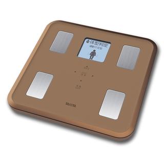 【タニタ】体組成計 約30×30×3.8cm ブラウン