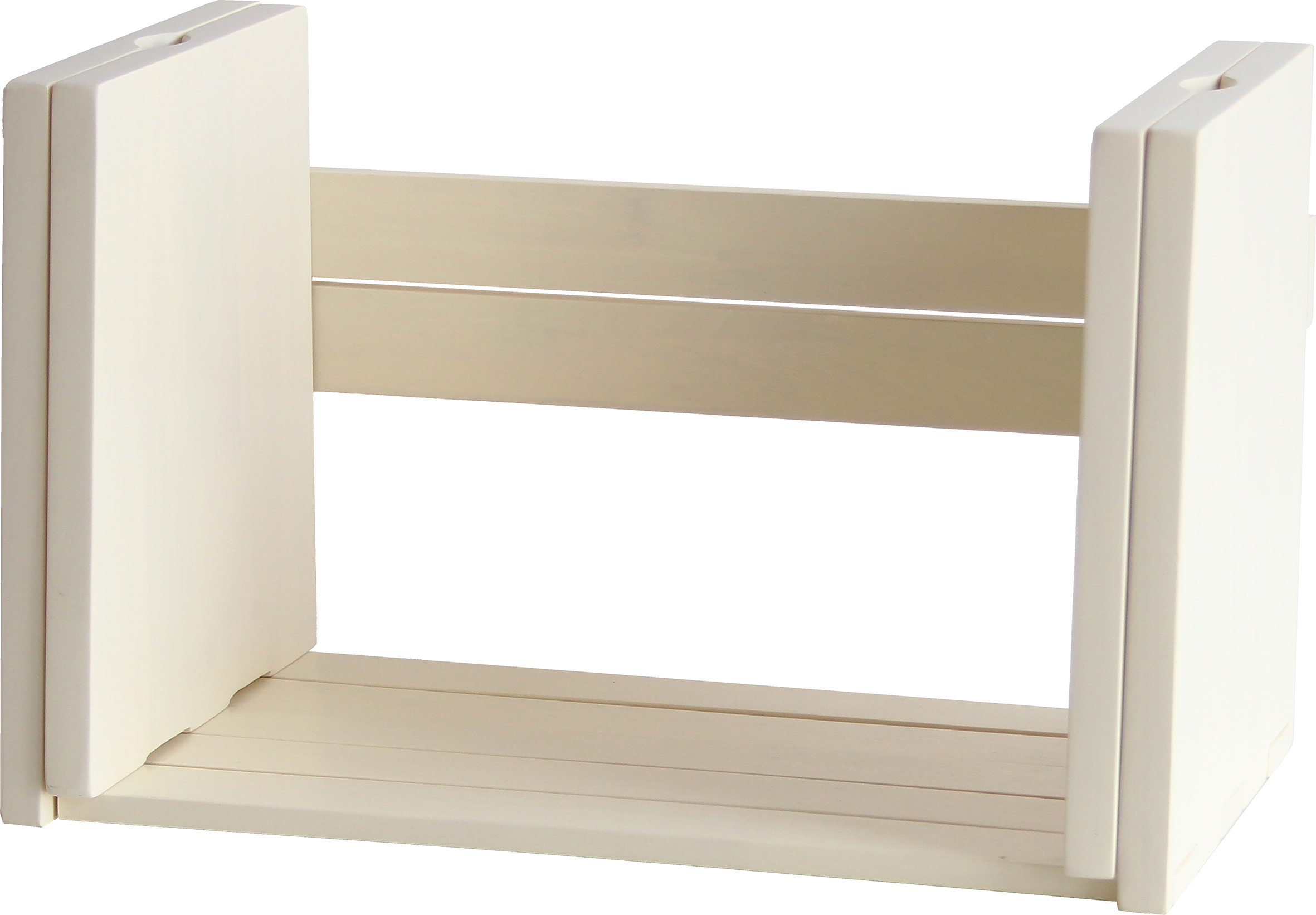 伸長式ブックスタンド ホワイト