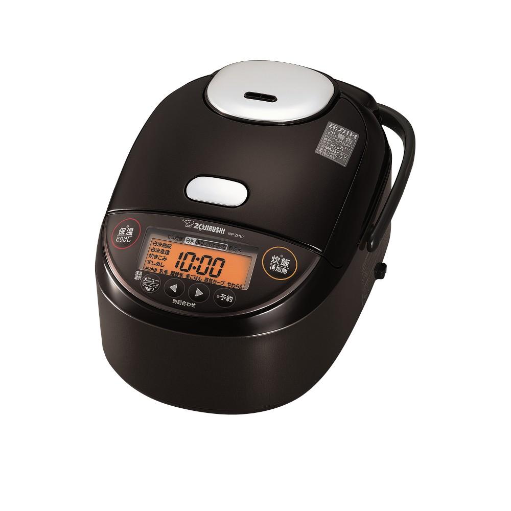 【象印】5.5合炊き 圧力IH炊飯ジャー NP-ZH10(TD)