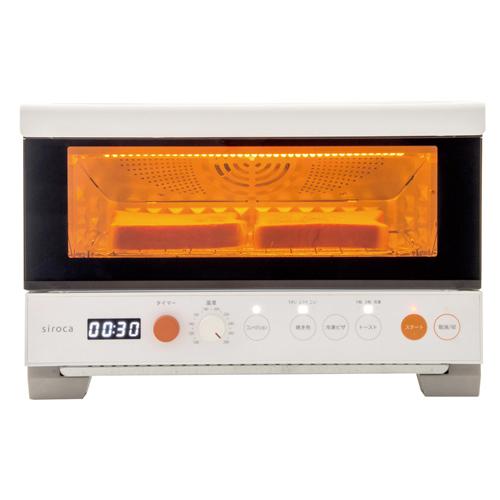 siroca プレミアムオーブントースター すばやき おまかせ(2枚焼き)  ST-2D251