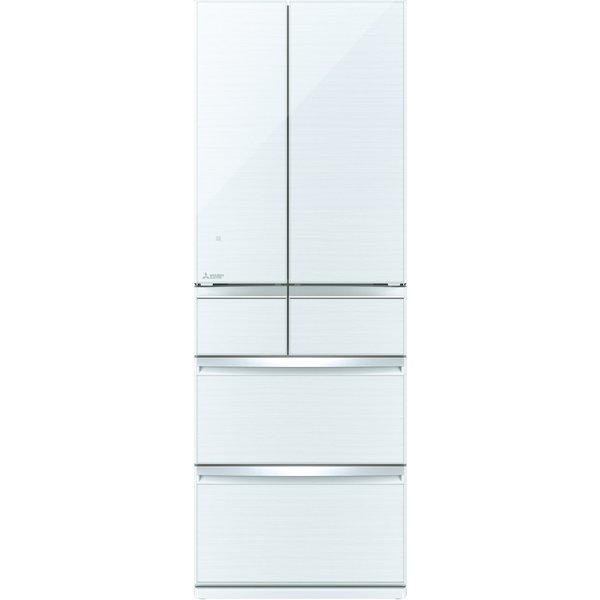【配送設置込】三菱電機 MR-WX52F-W [冷蔵庫(517L・フレンチドア) WXシリーズ クリスタルホワイト]