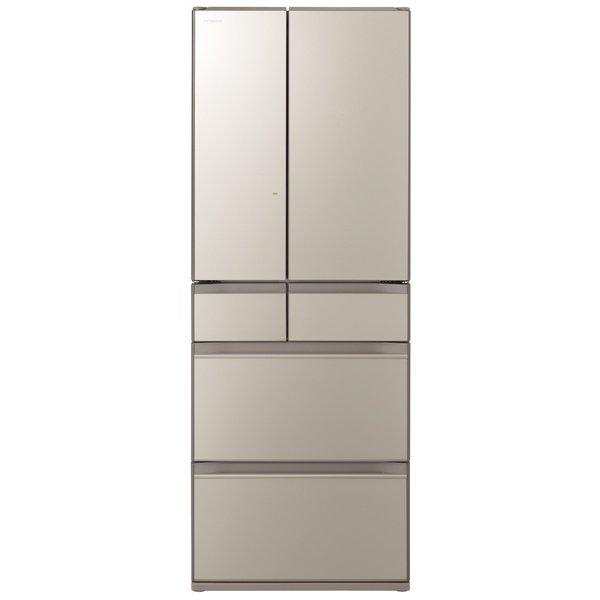 【配送設置込】日立 R-HX60N-XN [冷蔵庫 (602L・フレンチドア) 6ドア ファインシャンパン]