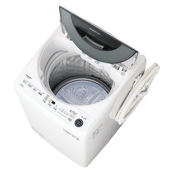 【配送設置込】シャープ ES-GW11E-S [全自動洗濯機 洗濯11.0kg シルバー系]