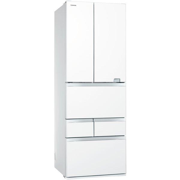 【配送設置込】東芝  GR-S460FZ(UW) [冷蔵庫 (461L・フレンチドア6ドア)べジータ グレインホワイト]