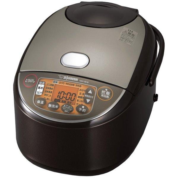 【象印】NW-VB18-TA IH炊飯ジャー 豪熱沸とうIH 1升炊き