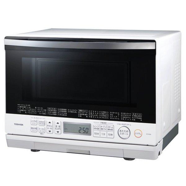 【東芝】ER-VD80(W) [過熱水蒸気オーブンレンジ 石窯ドーム 26L グランホワイト]