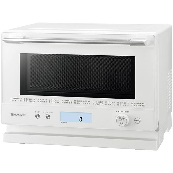 【シャープ】 RE-WF181-W [PLAINLY オーブンレンジ 18L ホワイト系]