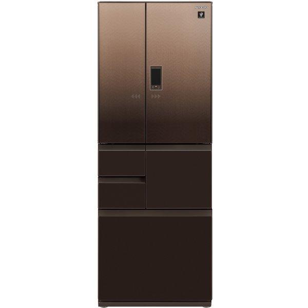 【標準設置工事付】シャープ  SJ-AF50G-T プラズマクラスター冷蔵庫 (502L・電動フレンチドア)