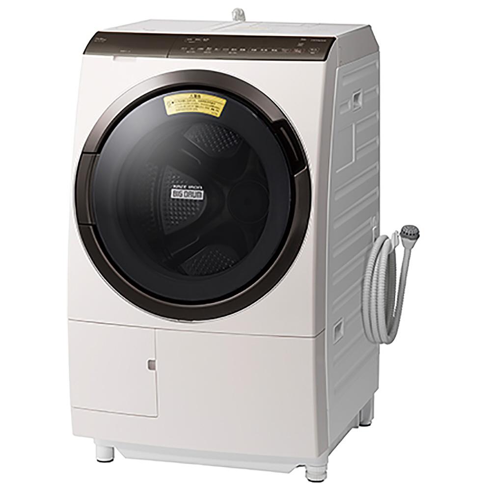 【標準設置工事付】日立 BD-SX110FL N 洗濯乾燥機 ビッグドラム 洗濯11kg/乾燥6kg 左開き ロゼシャンパン