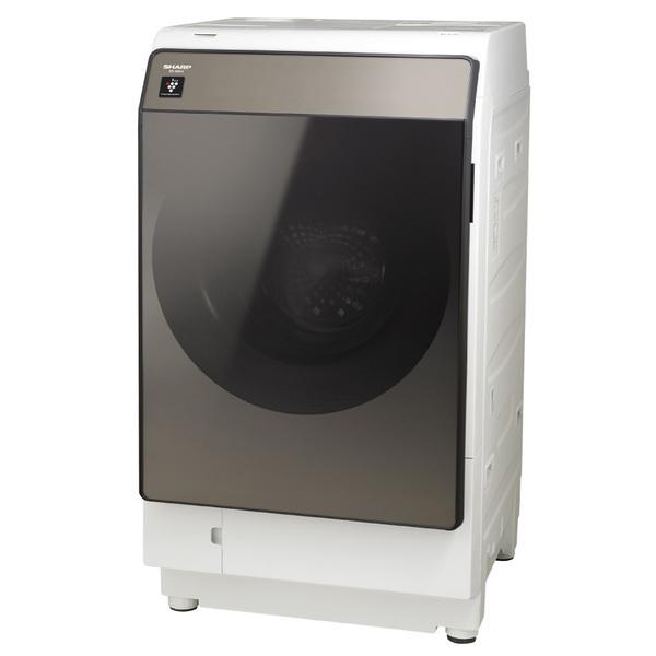 【標準設置工事付】シャープ ES-WS13-TL ドラム式洗濯乾燥機 洗濯11.0kg/乾燥6.0kg 左開き ブラウン系