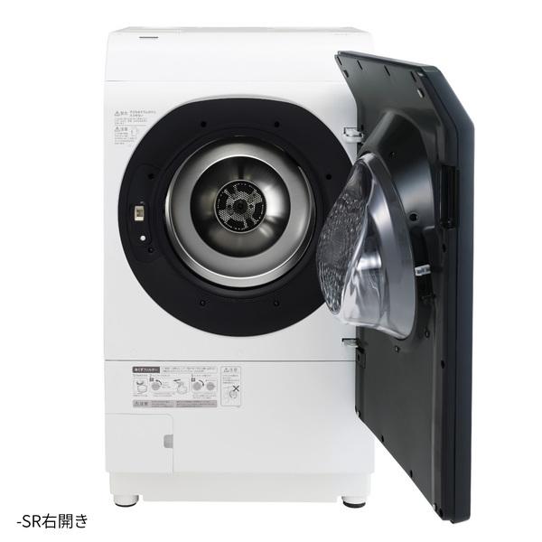 【標準設置工事付】シャープ ES-W113-SR ドラム式洗濯乾燥機 洗濯11.0kg/乾燥6.0kg 右開き シルバー系