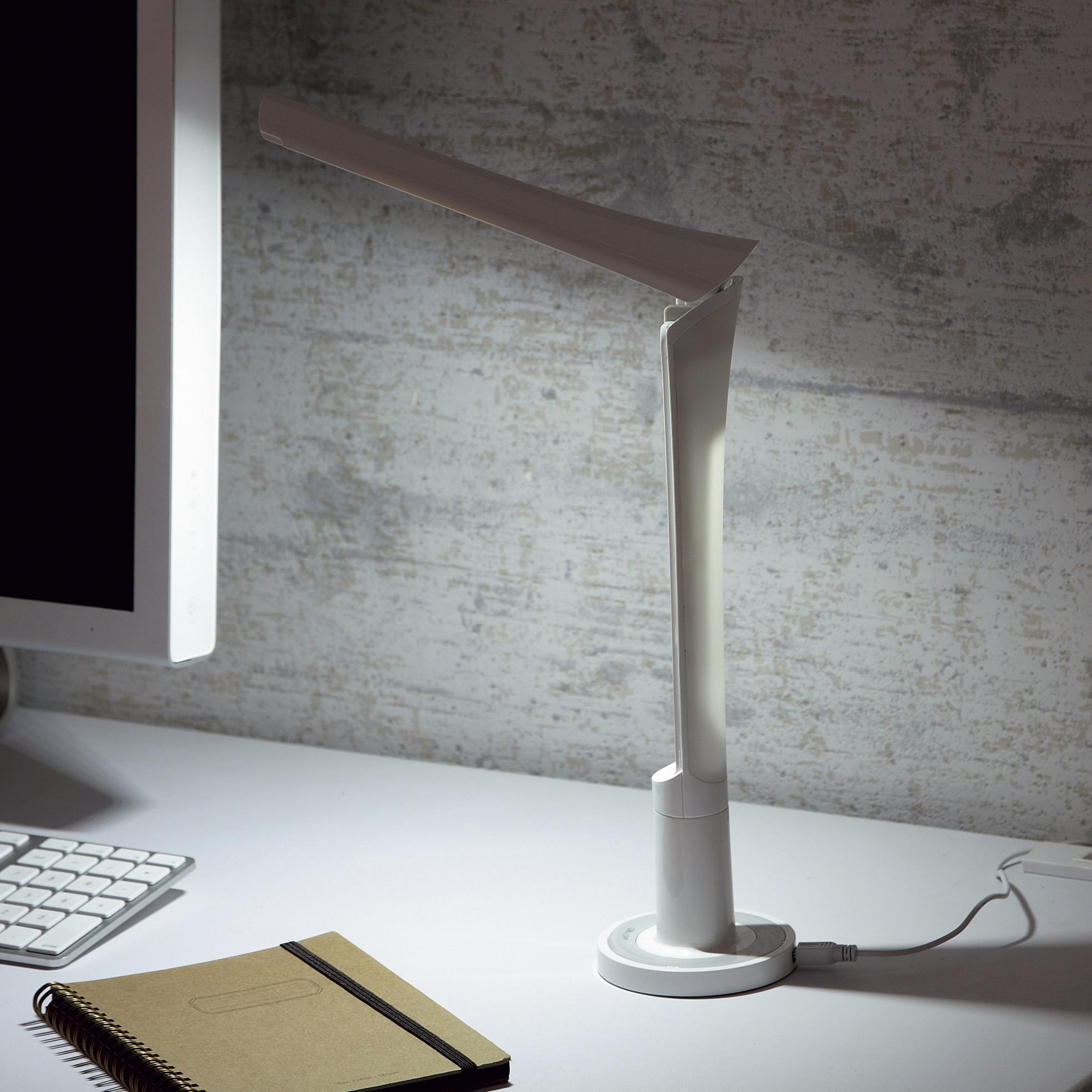 【ドリテック】LEDスタンドライト ホワイト