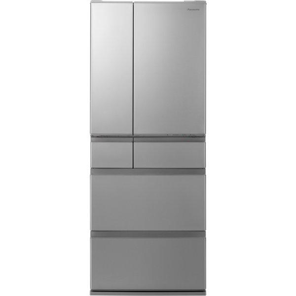 【標準設置工事付】パナソニック NR-F486MEX-S 冷蔵庫 (483L・フレンチドア) 6ドア ステンレスシルバー