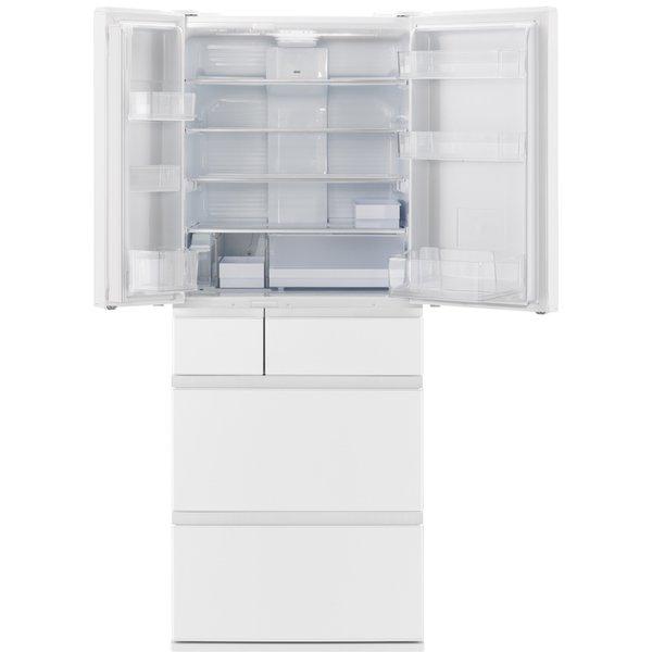 【標準設置工事付】パナソニック NR-F486MEX-W 冷蔵庫(483L・フレンチドア) 6ドア  セラミックホワイト