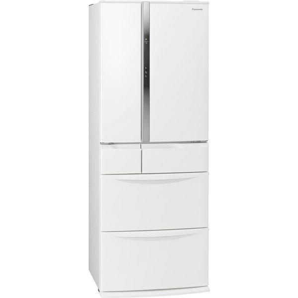 【標準設置工事付】パナソニック NR-FVF456-W エコナビ搭載冷蔵庫(451L・フレンチドア) 6ドア ハーモニーホワイト