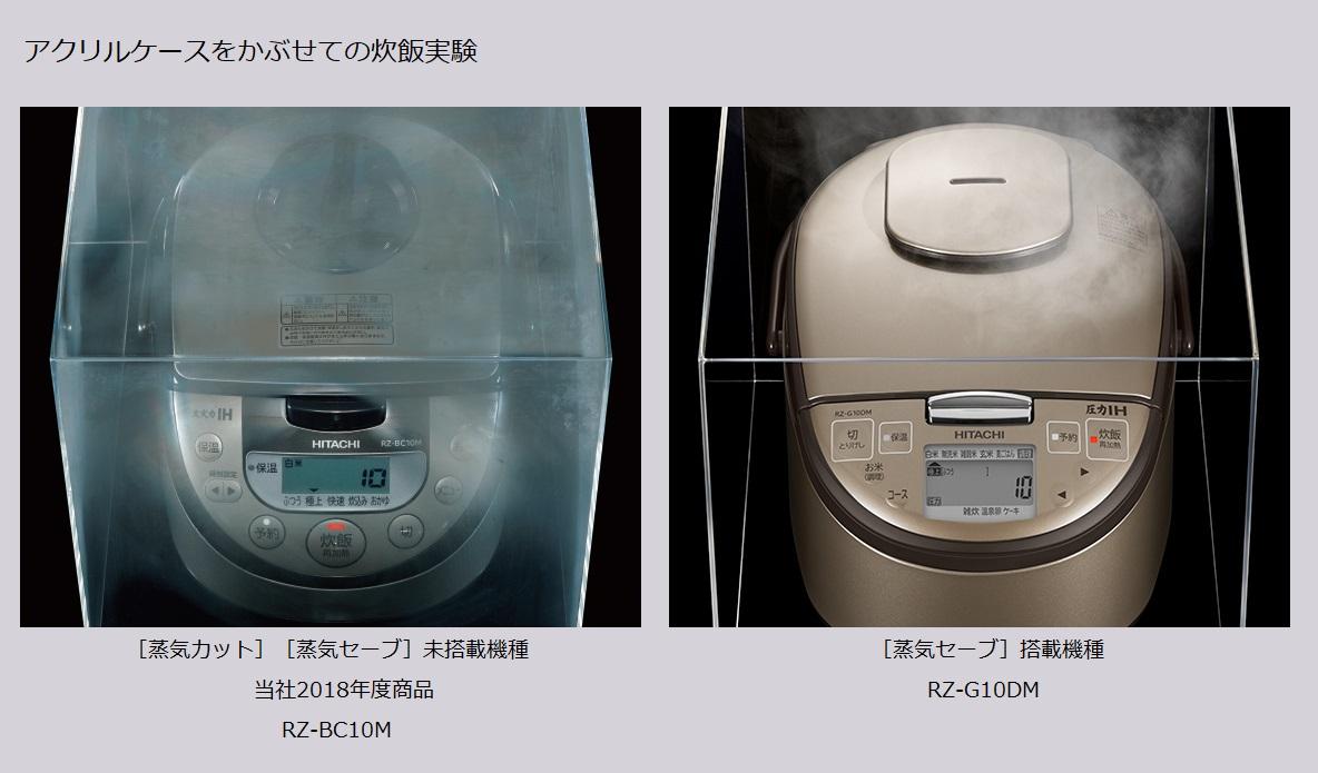 【日立】RZ-G10DM T [圧力IH炊飯器 5.5合炊き ライトブラウン]