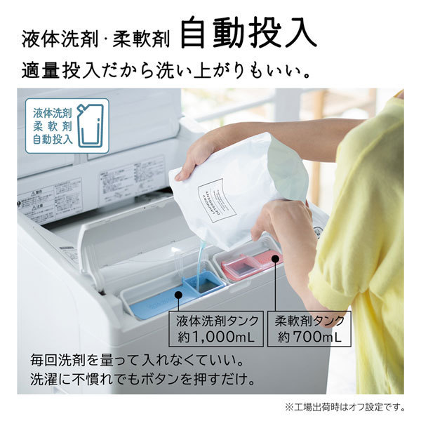【標準設置工事付】日立 BW-X120F W 全自動洗濯機 ビートウォッシュ 洗濯12kg ホワイト