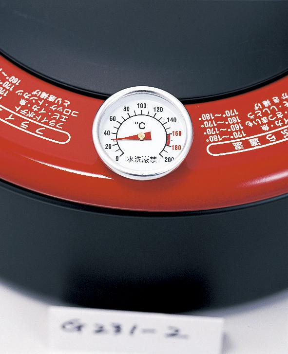 【新潟県】天ぷら鍋24cm 約径24×高さ7.7cm・適正油量1.3L・重量約1.1kg