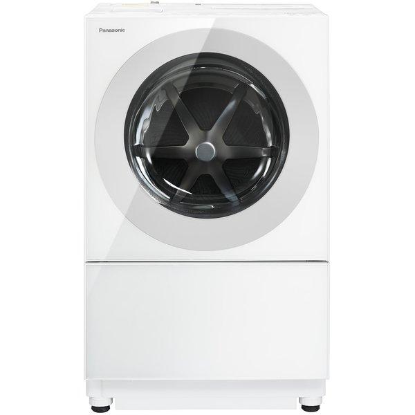 【標準設置工事付】パナソニック NA-VG750L-W [ななめドラム式洗濯機 Cuble 左開き マットホワイト]