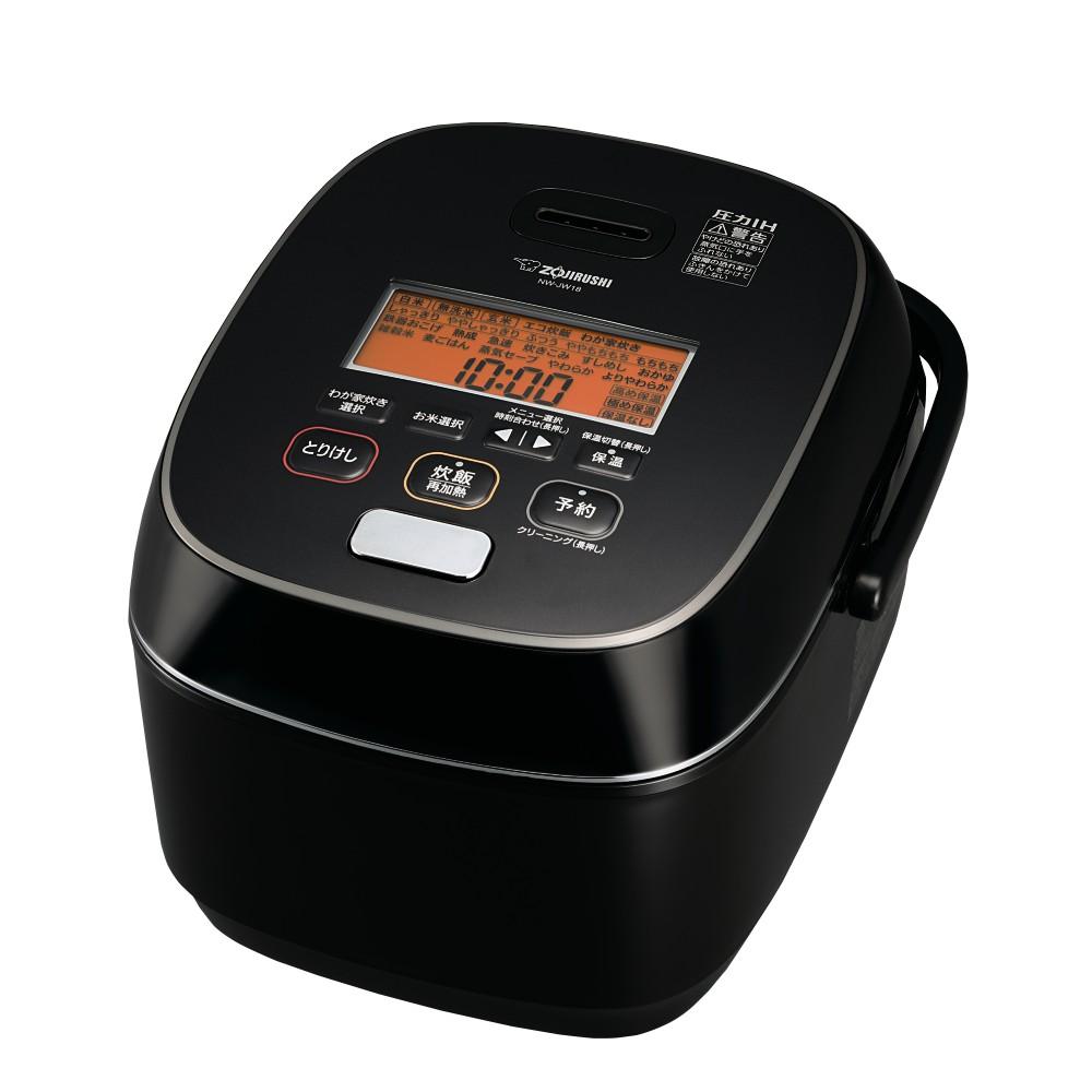 【象印】1升炊き 圧力IH炊飯ジャー NW-JW18(BA)
