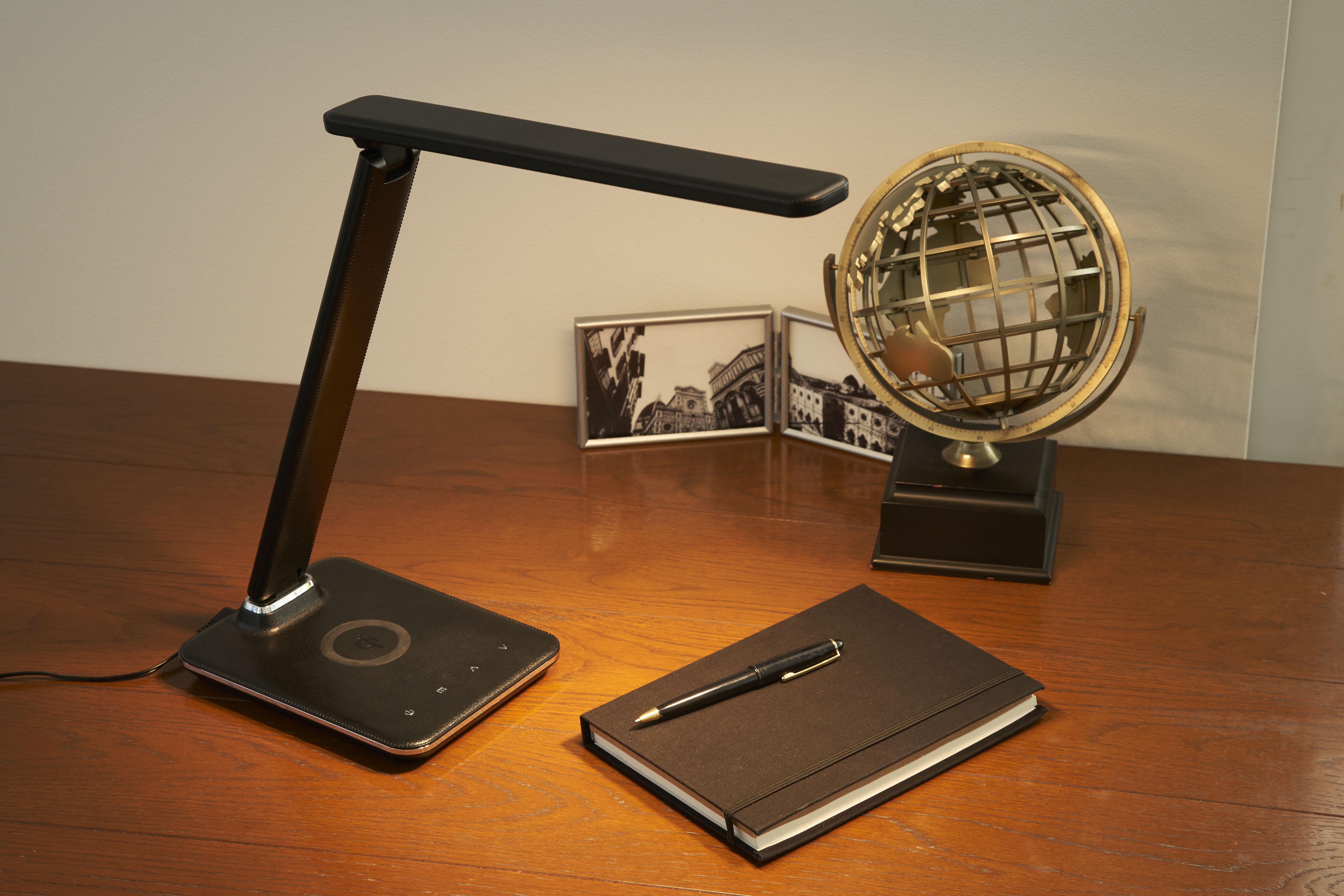 【オリンピア照明】LEDビジネスデスクランプ 黒