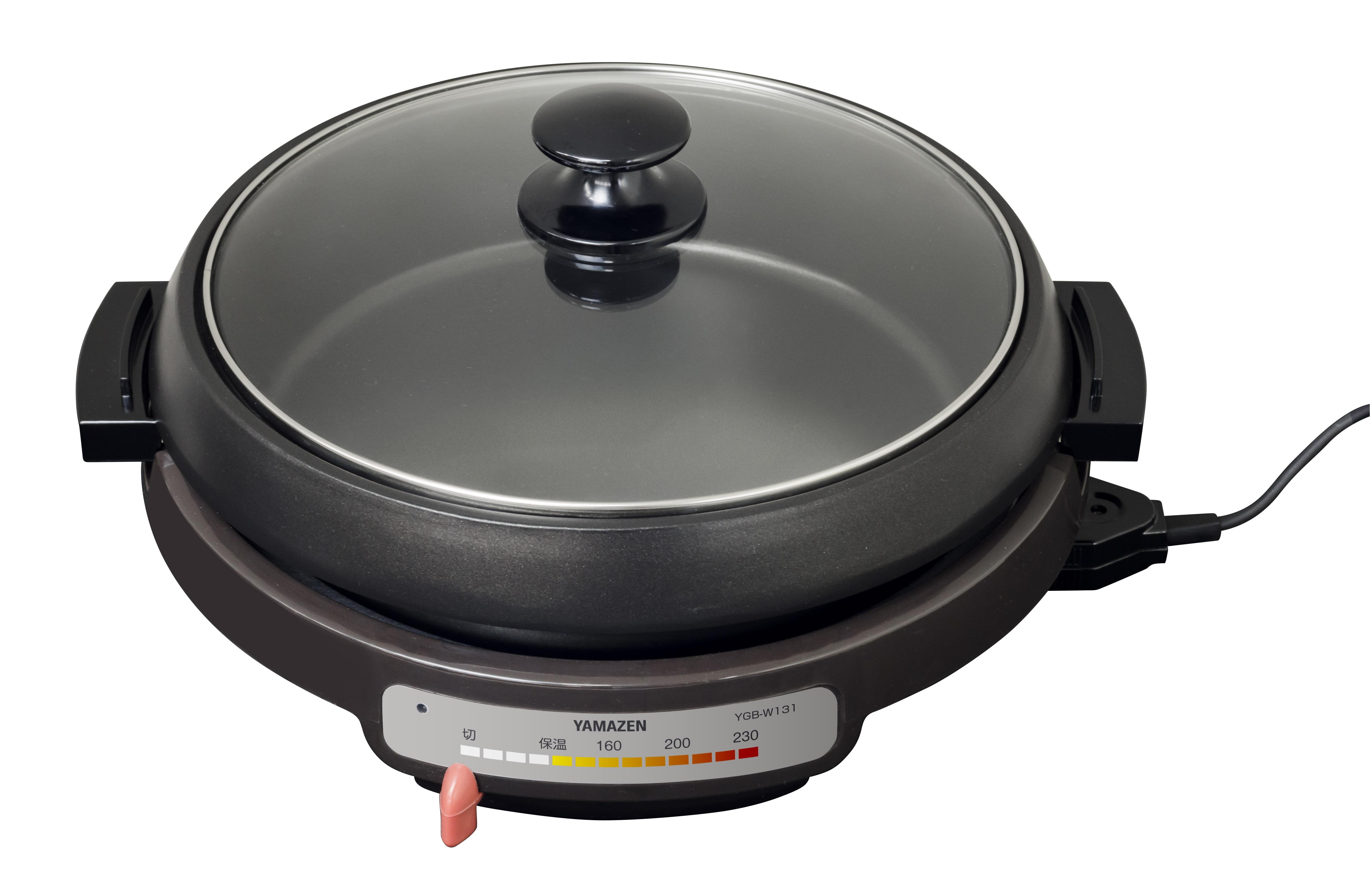 【YAMAZEN】グリル鍋