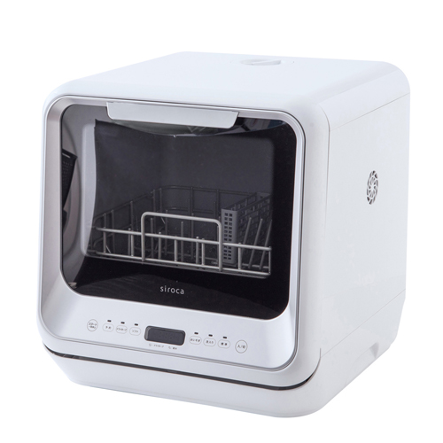 【siroca】食器洗い乾燥機 SS-M151 約幅42×奥行43.5×高さ43.5cm