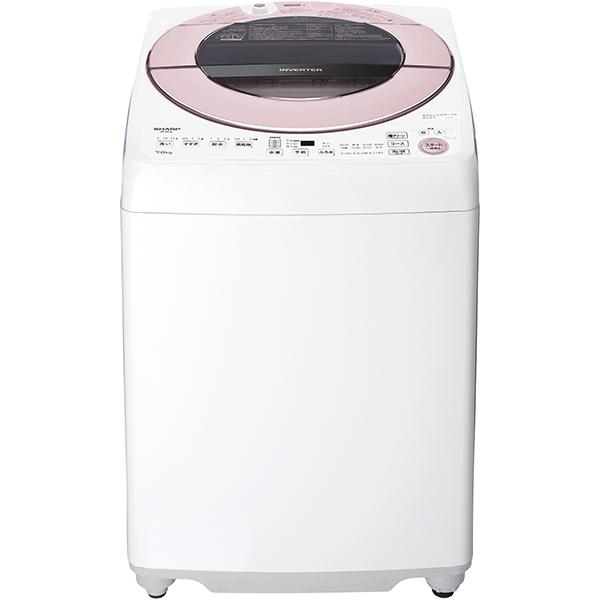 【標準設置対応付】シャープ 全自動洗濯機 7kg ピンク系 ES-GV7E-P