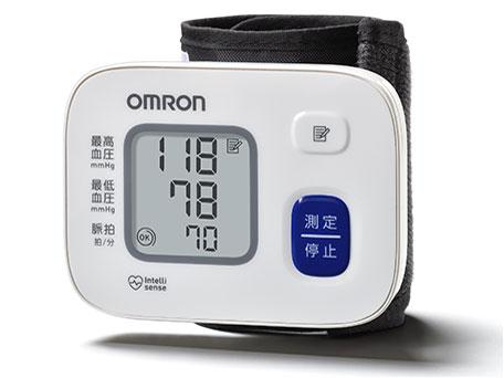 【オムロン】 手首式血圧計 シンプルタイプ HEM-6164