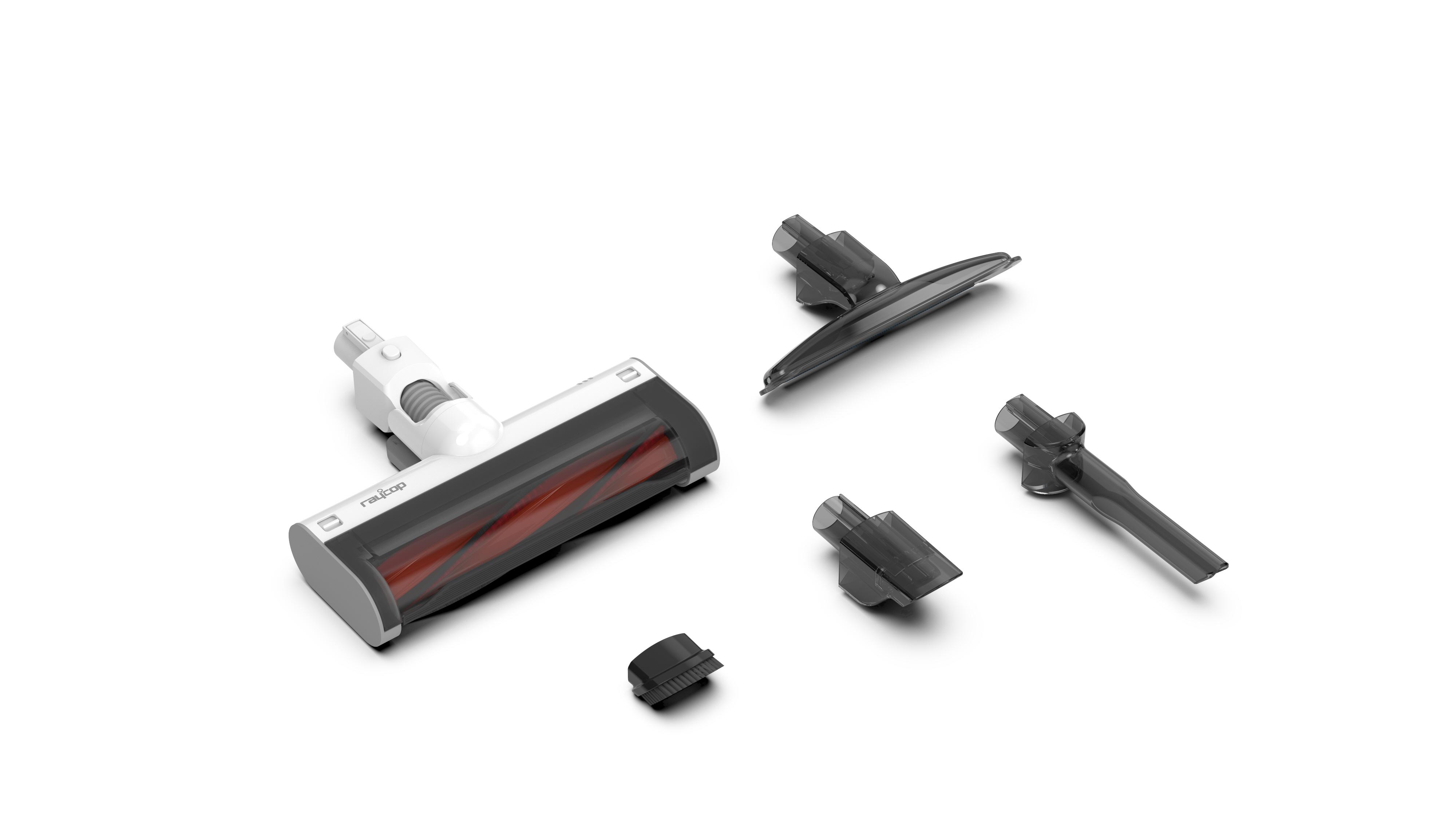 【レイコップ】スティッククリーナー レイコップRSC-100 スティック時/幅242×長さ1136×高さ210.8mm ホワイト