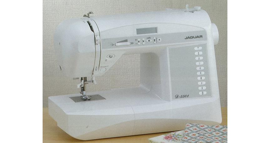【ジャガー】コンピュータミシン 約幅42×奥21×高さ31cm