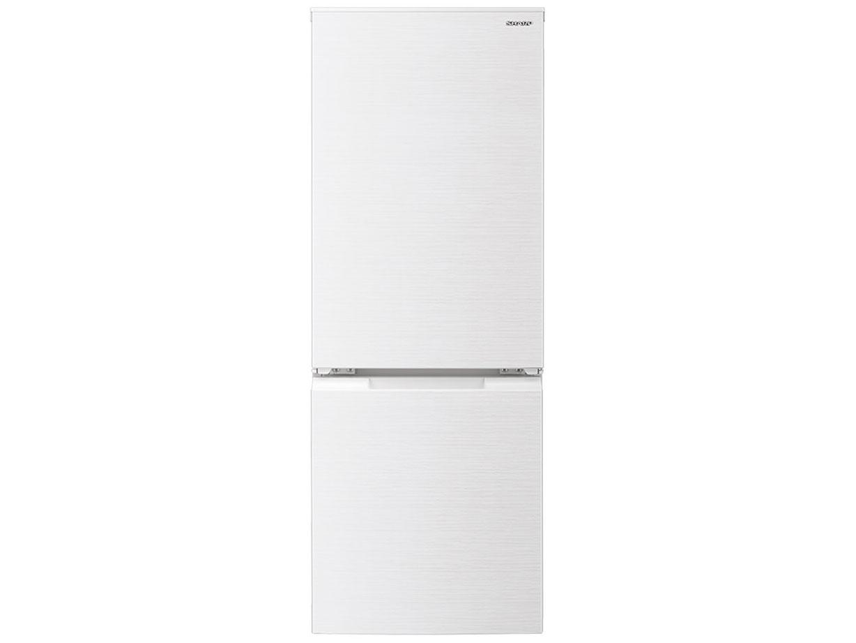 【標準設置対応付】シャープ   冷蔵庫 (179L・つけかえどっちもドア) 2ドア ホワイト系  SJ-D18G-W