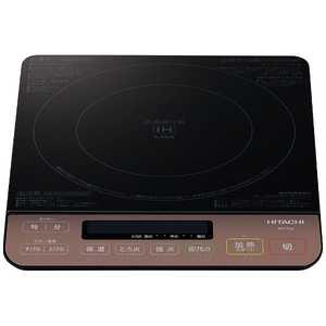 【日立】  卓上IH調理器 ブラック  HIT-S55 B