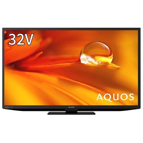 【シャープ】2T-C32DEB アクオス DEシリーズ 32V型 地上・BS・110度CSデジタル液晶テレビ ブラック系