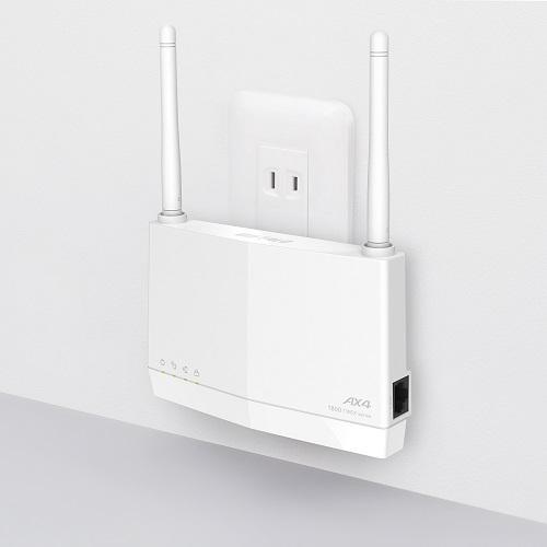 【バッファロー】WEX-1800AX4EA 11ax対応 外付けアンテナ搭載 無線LAN中継機 AirStation