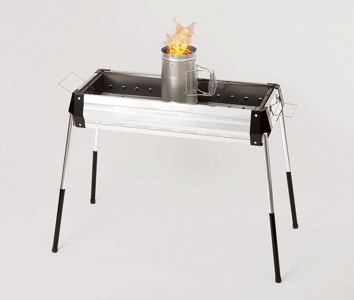 【グリーンライフ】火おこし兼用火消しつぼ