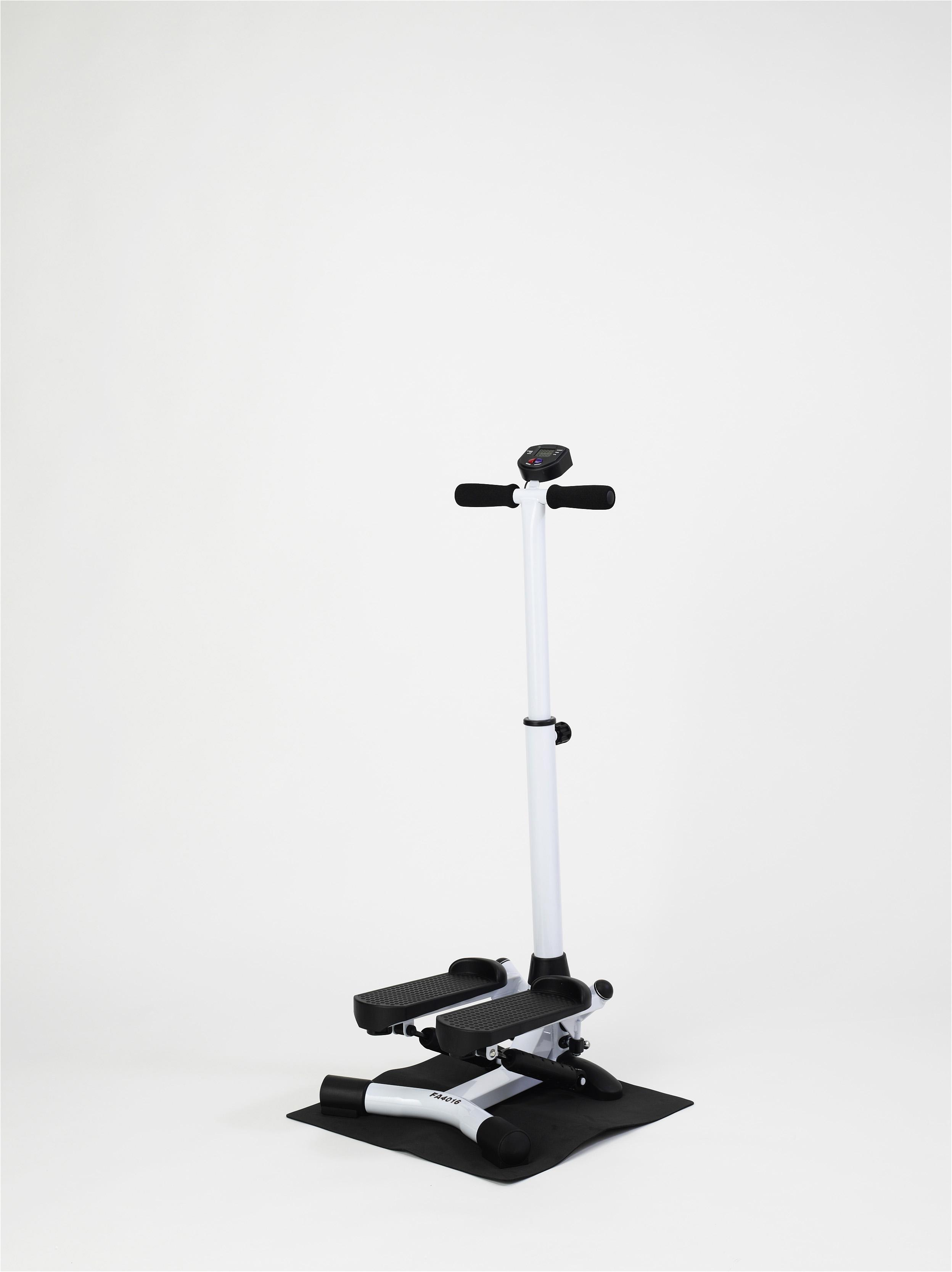 【アルインコ】ハンドル付ステッパー 使用時/約幅44×奥45.5×高さ102.5~112.5cm