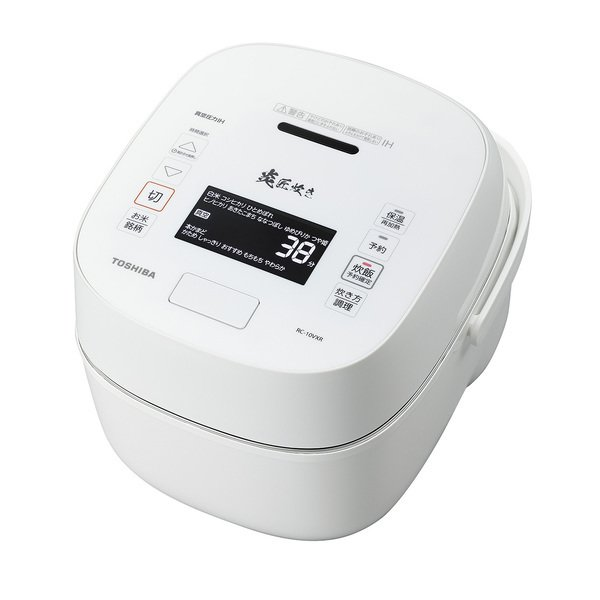 【東芝】  RC-18VXR(W) [真空圧力IH炊飯器 1升炊き ホワイト]