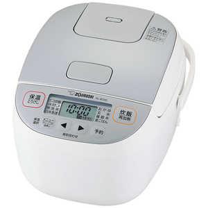 【象印】小容量マイコン炊飯ジャー 3合炊き ホワイトNL-BD05-WA