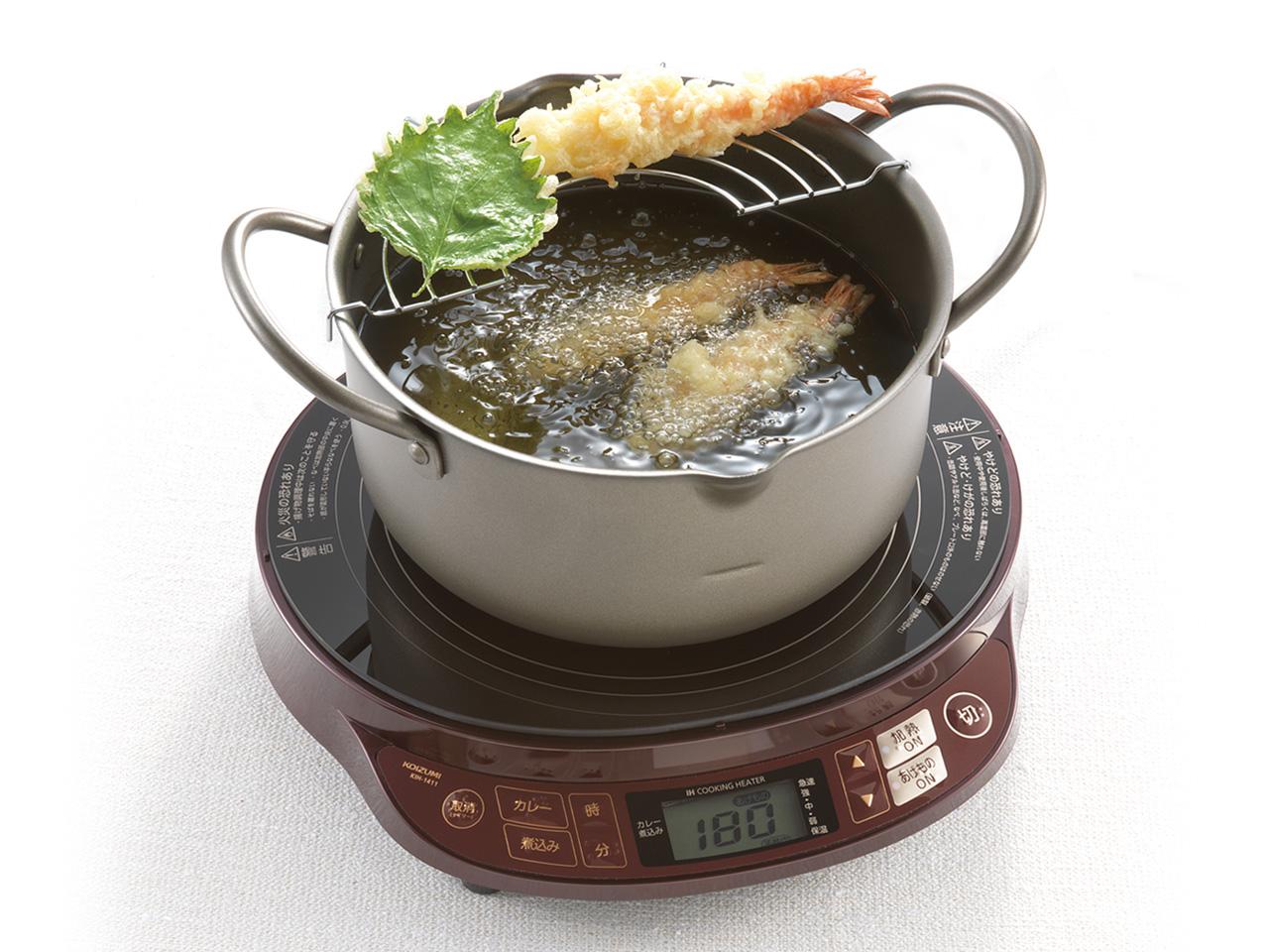 【小泉成器】コイズミIHクッキングヒーターIH調理器