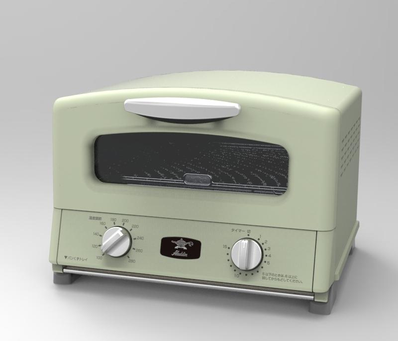 【アラジン】グリル&トースター アラジングリーン