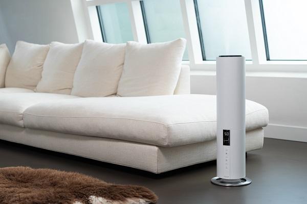 【ツカモトコーポレーション】Beam(ビーム)タワー型超音波式加湿器 ホワイト