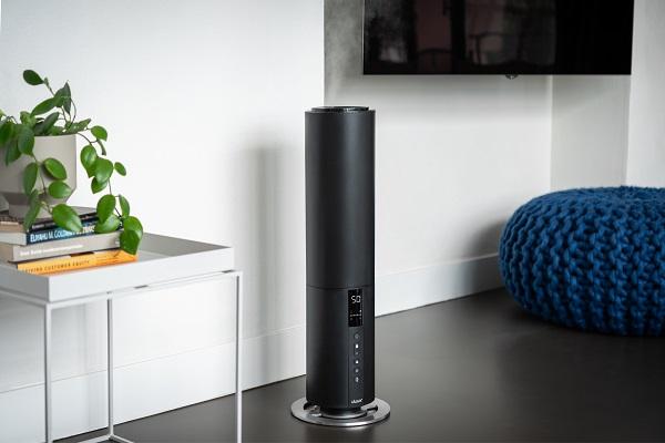 【ツカモトコーポレーション】Beam(ビーム)タワー型超音波式加湿器 ブラック