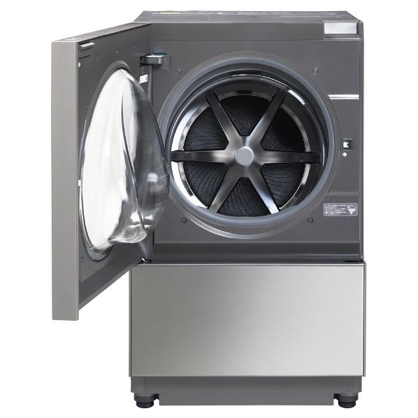 【標準設置対応付】パナソニックななめドラム式洗濯機 Cuble 左開き プレミアムステンレスNA-VG2500L-X