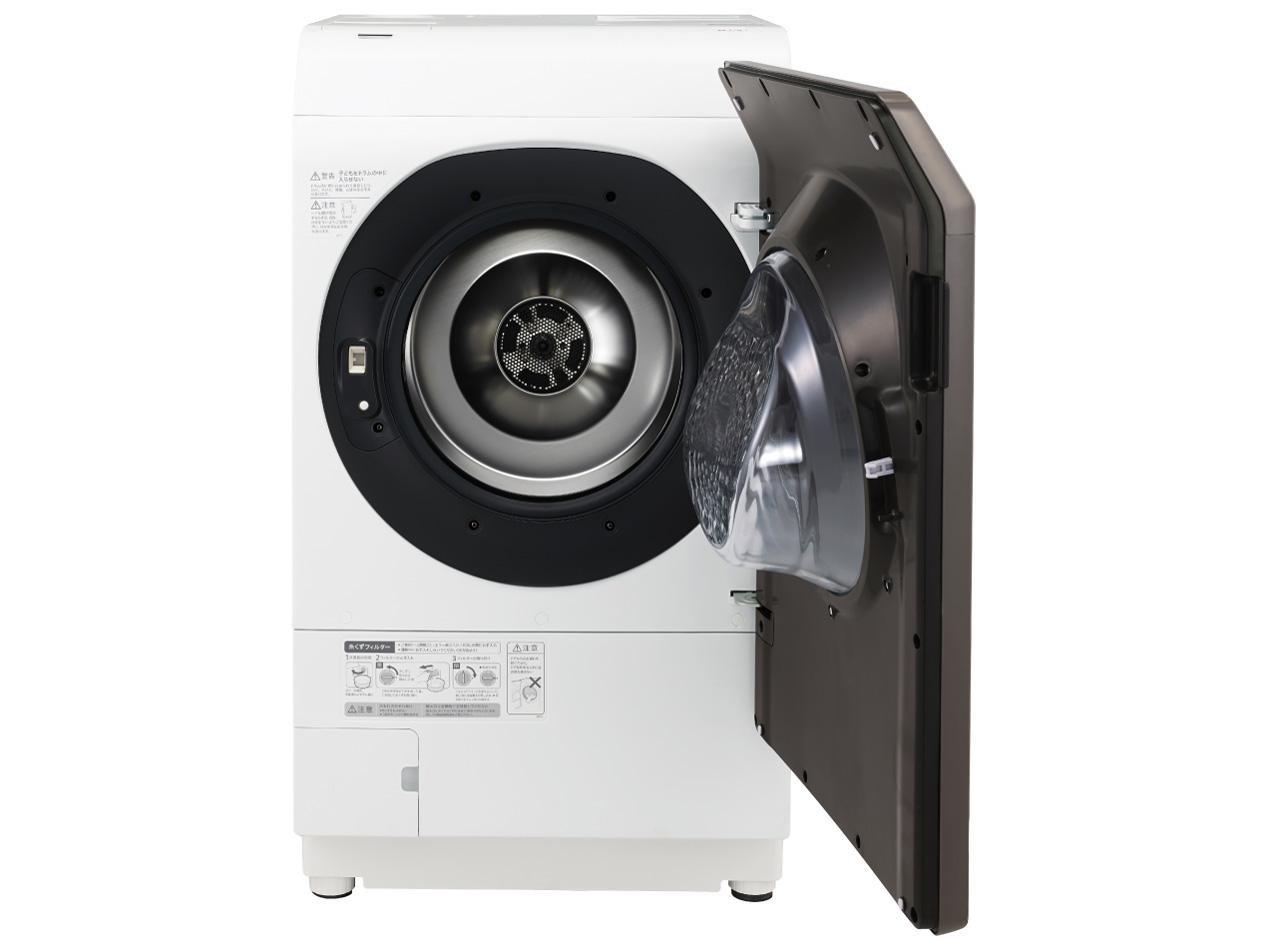 【標準設置対応付】シャープ  ドラム式洗濯乾燥機 洗濯11.0kg/乾燥6.0kg 右開き ブラウン  ES-WS13-TR