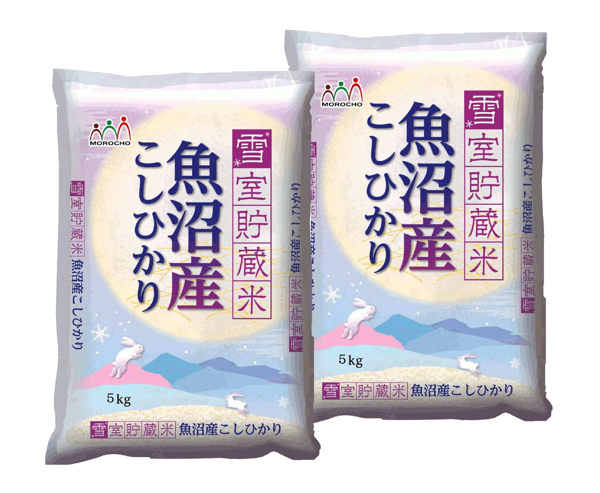 【新潟県】魚沼産こしひかり 雪室貯蔵米 10kg(5kg×2)