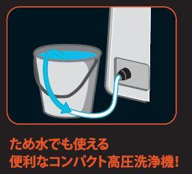 【ポップリベット・ファスナー】ブラック アンド デッカー 高圧洗浄機 本体/約幅23×奥24×高さ47cm ブラック&オレンジ